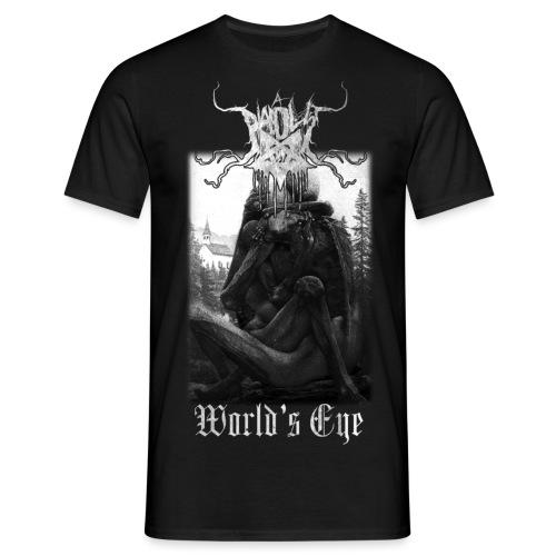 World's Eye - T-skjorte for menn