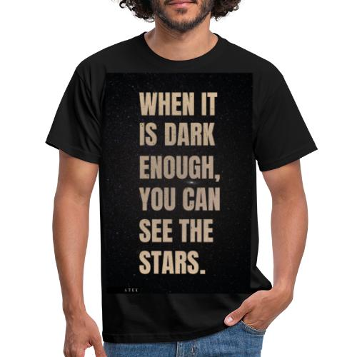 see the stars - Camiseta hombre