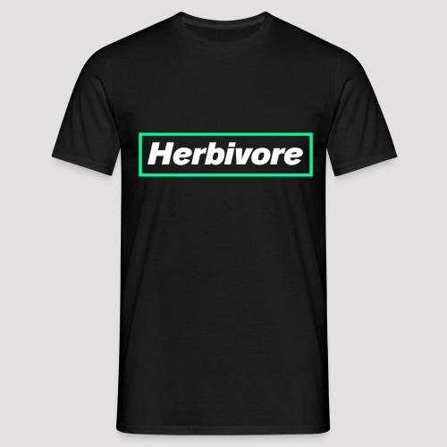 Herbivore Logo White - Maglietta da uomo