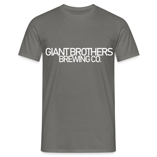 Giant Brothers Brewing co white - T-shirt herr
