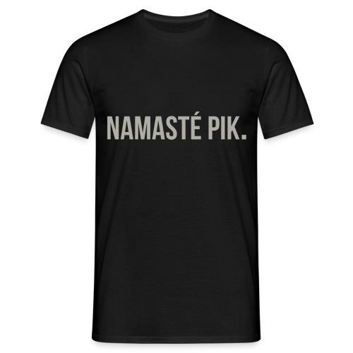 Namasté pik. - mannen - Mannen T-shirt