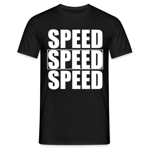 SPEED Mens MOTORSPORT Hoodie and Tee - Men's T-Shirt