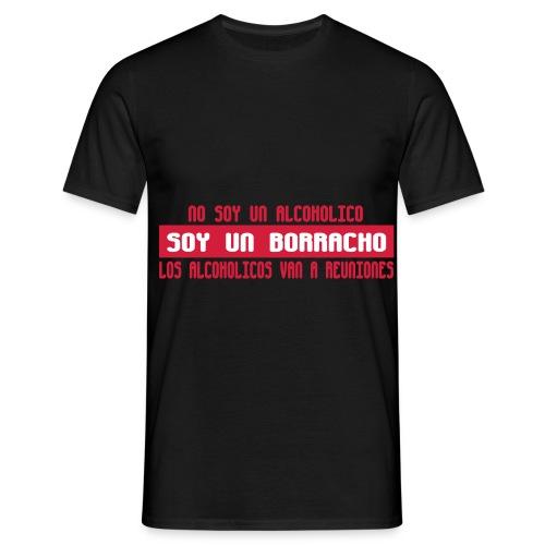nosoyalcoholico - Camiseta hombre