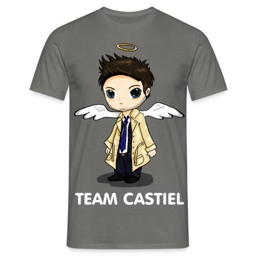 Team Castiel (dark) - Men's T-Shirt