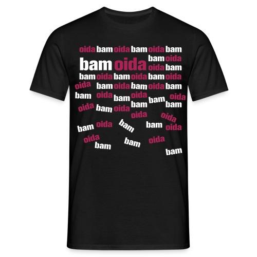 bam oida mosaik - Männer T-Shirt