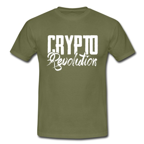 Crypto Revolution - Men's T-Shirt