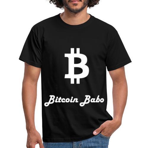Bitcoin Babo - Männer T-Shirt