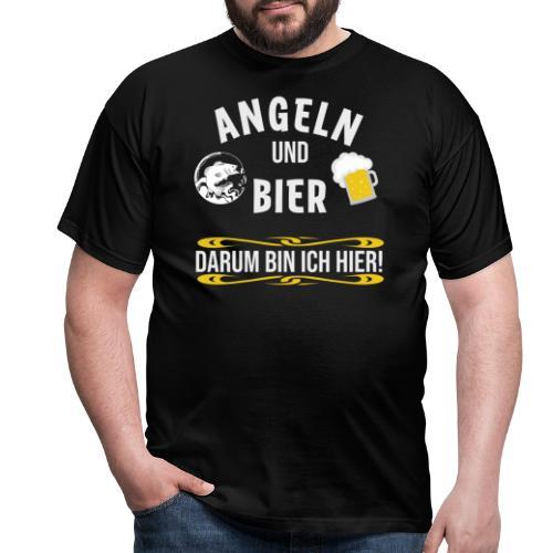 Angler angeln Sportfischer Fischer Angelhobbie Fun - Männer T-Shirt