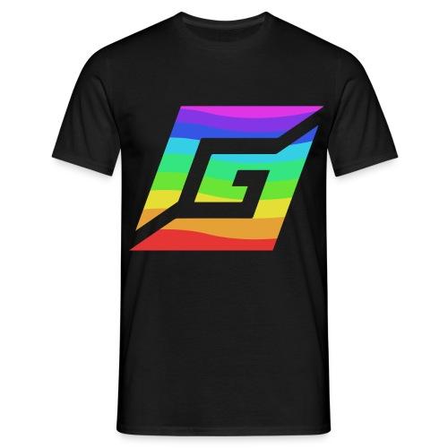 GamesWithGamers-Regenboog - Mannen T-shirt