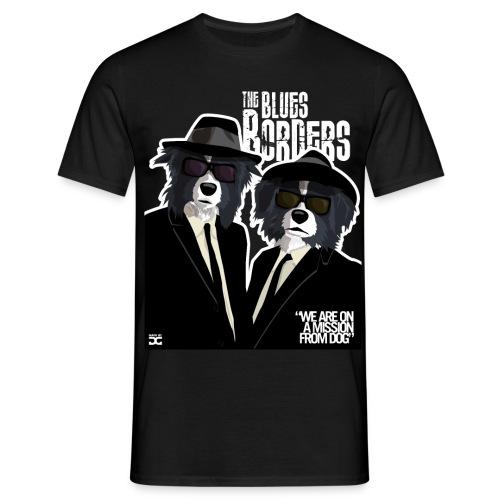 The Blues Borders - Men's T-Shirt