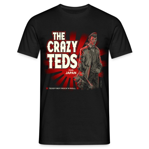 teddy boy japo unido - Men's T-Shirt