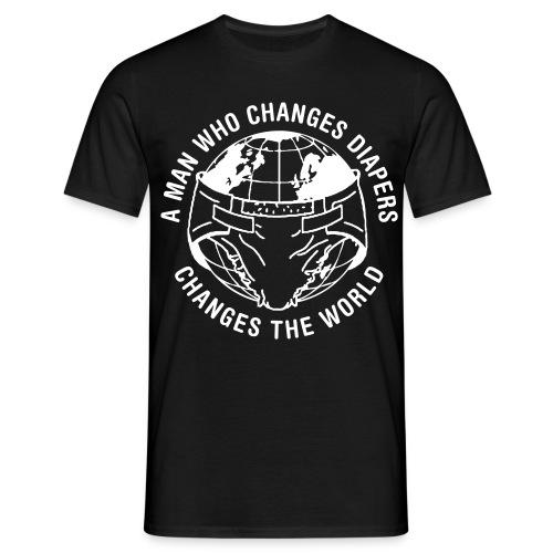 diaperchange2 - Mannen T-shirt