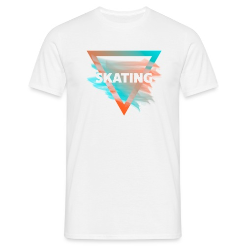 Skating Diffus - Männer T-Shirt