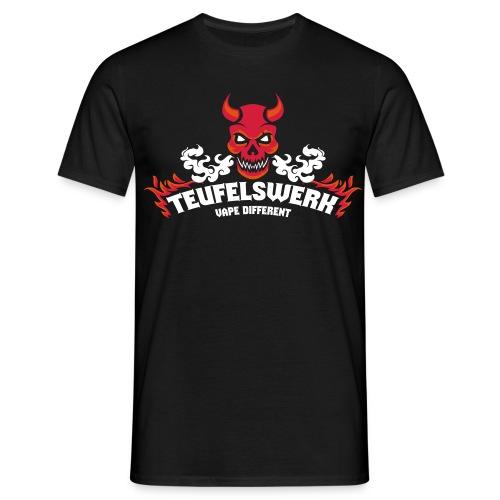 Teufelswerk - Vape Different - Männer T-Shirt