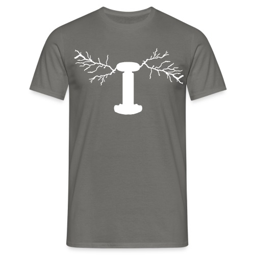 Tesla Coil - Men's T-Shirt