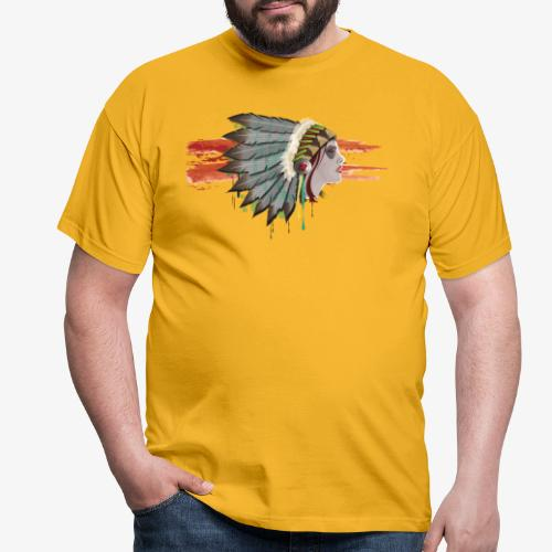 Native american - T-shirt Homme