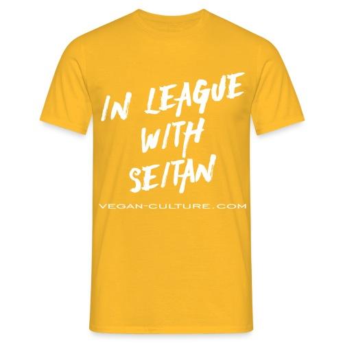 Seitan Power - Vegan Culture - Männer T-Shirt