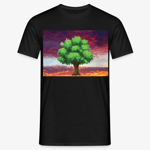 Tree in the Wasteland - Men's T-Shirt