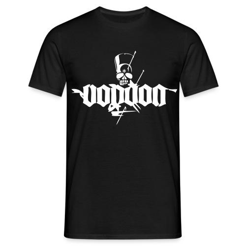 voodoo logo ganz weiss - Männer T-Shirt