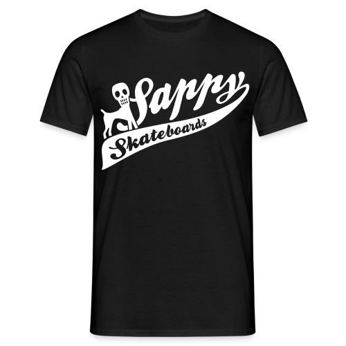 sappy baseball print - T-shirt herr