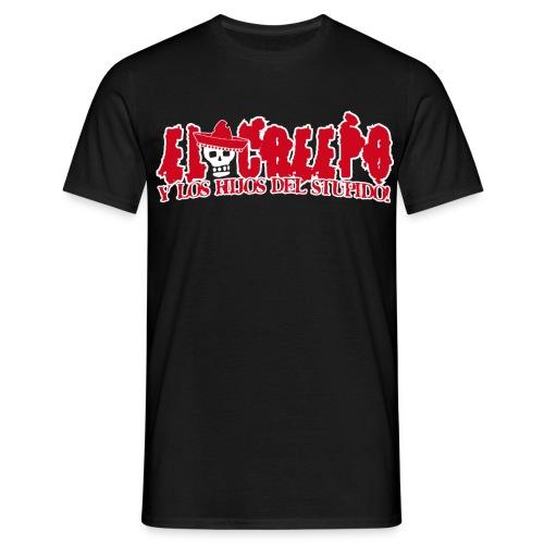El Creepo Creepo Logo Front - Männer T-Shirt