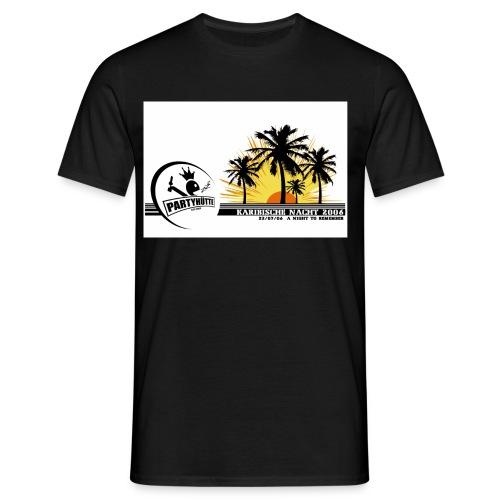 karib06shirtlogo kopie - Männer T-Shirt