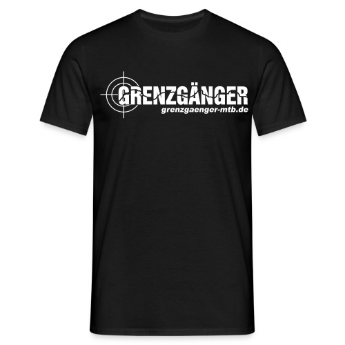 grenzgaenger3 - Männer T-Shirt