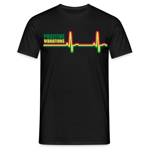 POSITIVE VIBRATION - Men's T-Shirt
