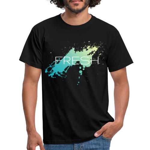 Fresh Sommer Grafik Design - Männer T-Shirt