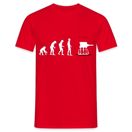 Evoluti...Ops - Maglietta da uomo