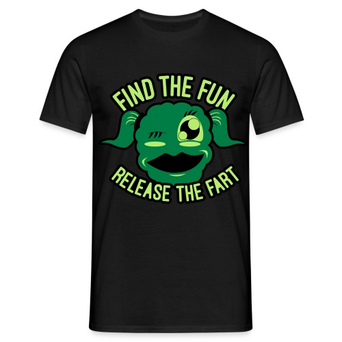 #GirlsOnly: Find The Fun - Release the Fart - Herre-T-shirt