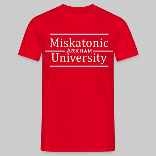 MJKv1: Miskatonic University - Arkham - Männer T-Shirt