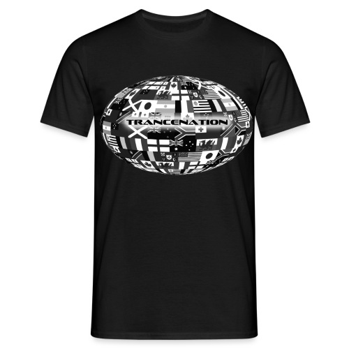 trancenation - T-shirt herr