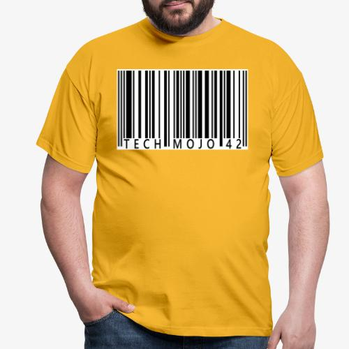 TM graphic Barcode Answer to the universe - Men's T-Shirt