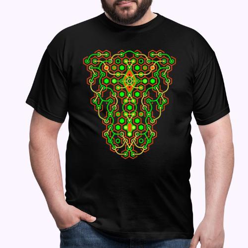 Impresión delantera del laberinto de Cybertron - Camiseta hombre