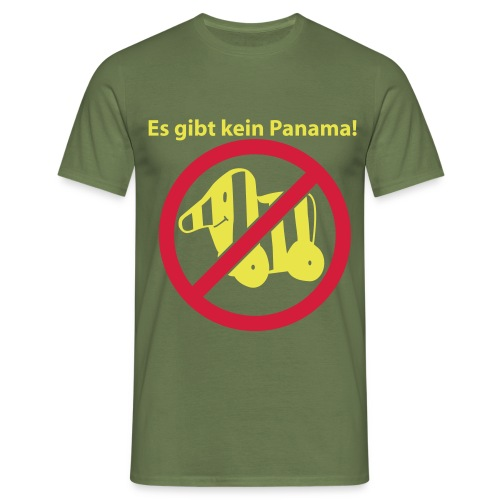 nopanfront - Männer T-Shirt