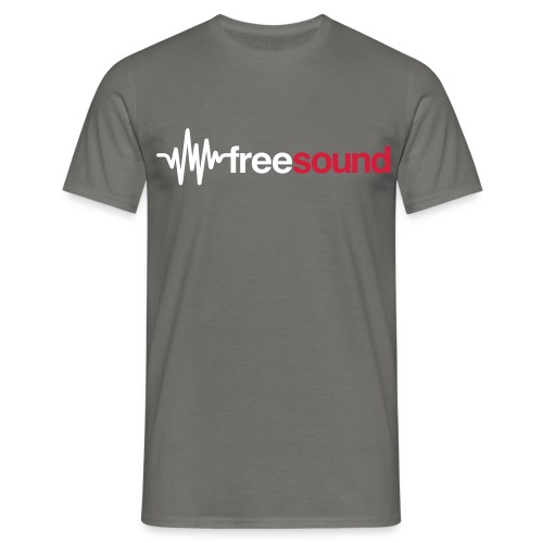freesound logo tshirt - Men's T-Shirt