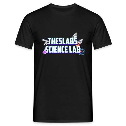 TheSlabs Science Lab Logo - Maglietta da uomo