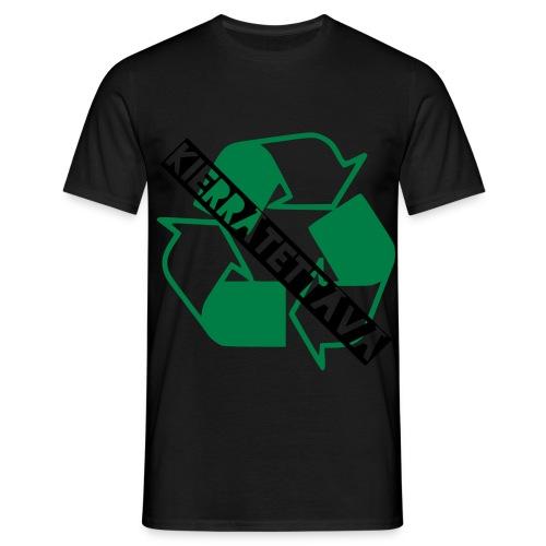 kierrätettävä - Miesten t-paita