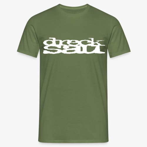 Drecksau original logo - Männer T-Shirt