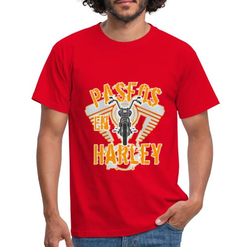 Paseos en H a r l e y - Camiseta hombre