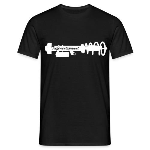 Tiefenentspannt - Männer T-Shirt