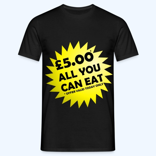 All You Can Eat Special Offer - Men's T-Shirt