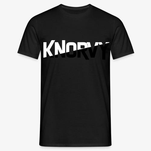 KNORVY - Mannen T-shirt