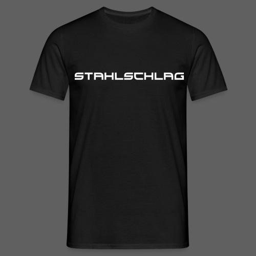STAHLSCHLAG Text - Men's T-Shirt