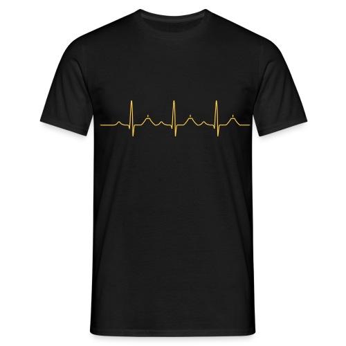 Healthy heart - Männer T-Shirt