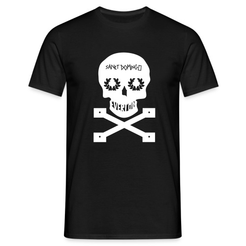 SanKt DominGO WHitE - Men's T-Shirt