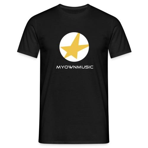 MOM Logo Weiß - Männer T-Shirt