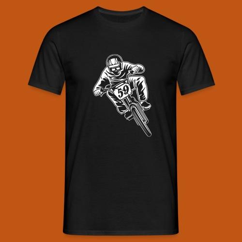 BMX Fahrrad / Bike 02_weiß - Männer T-Shirt