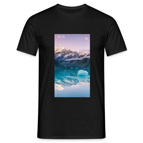 Der Spiegel zwischen Himmel und Erde - Männer T-Shirt